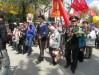 В Феодосии 9 мая 2017 года на Привокзальной площади состоялось торжественное мероприятие в честь 72-й годовщины со дня окончания Великой Отечественной войны – Парад Победы.  http://kafanews.com/novosti/132247/v-feodosii-proshel-parad-pobedy-video_2017-05-09