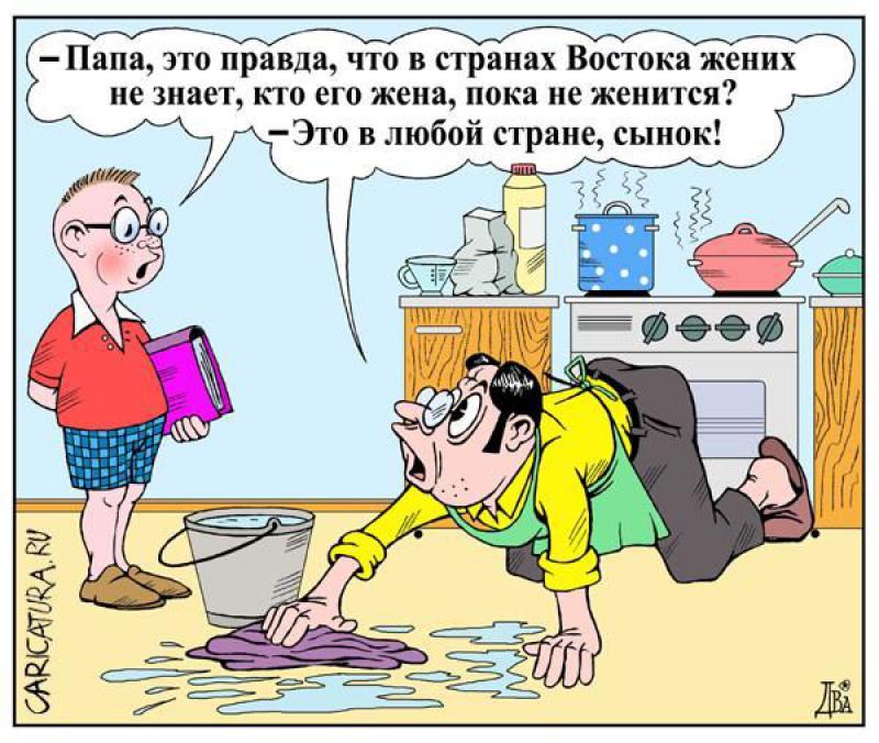 Анекдоты семейные смешные в картинках